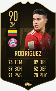 James Rodríguez - Player Profile 19/20 | Transfermarkt